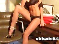 Celeb alice goodwin big tits in panties nude glamour shoot