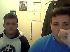 Straight guys feet on webcam #616