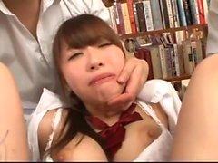 Hairy Asian Creampie Skank Sterne in Gruppensex XXX