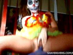 Шэй рек Дню всех святых Clown Мастурбация
