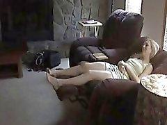 Biondi sposa scopare In Salotto