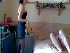 Caned & Teased By My Ex Wife