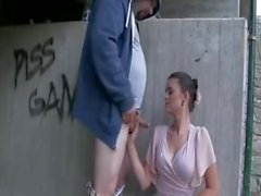 Couple have sex under the bridge - more videos at BISEXERdotCOM