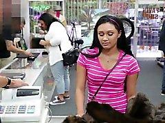 College brunette lukemattomiin hana in shop