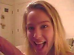 Geny sister blowjob me 2 (deepthroat)
