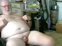 grandpa show auf webcam