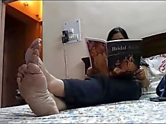 Feet of Mature Indian GODDESS 2