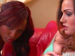 Nice Ass Lesbians Tori Black and Jada Fire