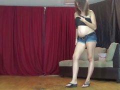 S671-PROD_89730 aplastamiento fetiche embarazado embarazo