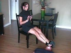 Pathoni Füße Stuhl Sklave