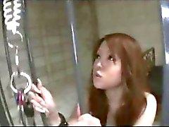 Japonesinha bonito escrava incondicional de BDSM sexo transando Bukkake Blowjobs do Creampie