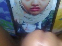 Bangladeshi hijabi flicka sayebaa