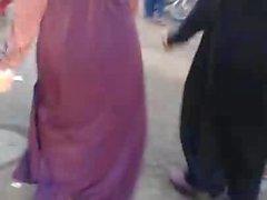 Hijab Abaya Candid: 006