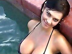 Denise Milani's nipple ?
