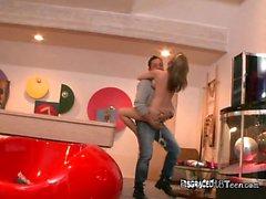 Naked Hottie Madison Scott Does Pole Dancing