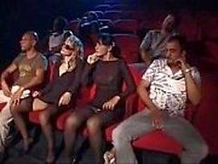 Suruba No Cinema Pornô sex in cinema