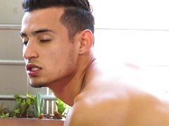 Angel Santiago rimming & fucking Dominic Santos