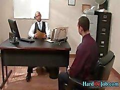 Hardcore jävla och suga på jobbet part6