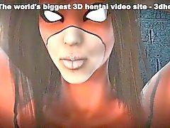 Caught Captured und Lashed - heißesten 3D-Anime-Sex-Filme