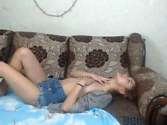 Giovane coreano masturbarsi in diretta