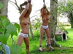 Exquisitas adolescencias blonde pechugonas pervertida en al aire libre