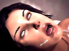 Lara Croft 3D gangbang y DP