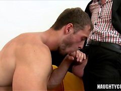 Big dick daddy casting with facial