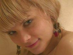 Ukrainian Anna - have a shower