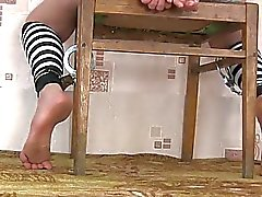 Tied Feet Girl