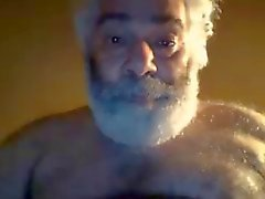 Hairy cornee cretini New York papà bear largo in webcam