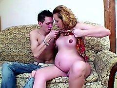 Молодая Немецком высокий мальчик трахаться его беременная Шаг - маму жесткий