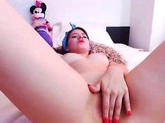 Busty vídeos de webcam adolescente masturbación latina