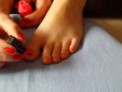 Uñas de uñas pulidas
