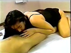 Japanese slut hairy cunt drilling