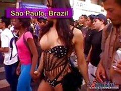 Fantastic Trans Party In Brazil