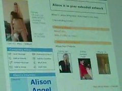 .Alison Angel - Bad schoolgirl with the anal break