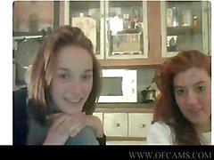 Webcam Mädchen klatschte funny der Himmel javx