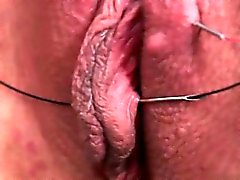 Cute girlfriend close up orgasm