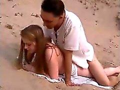 Nude Beach - geheizte Rotes Haar Durchgefickt