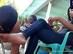 Bei Black Woman Feet