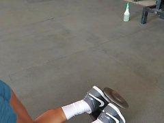 evet!!! Fitness sıcak ASS sıcak CAMELTOE 81