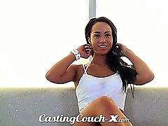 Casting Couch X Athletic garota de fazenda adora sexo a dinheiro