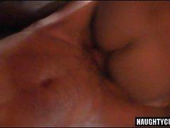 Hot gay threesome with cumshot