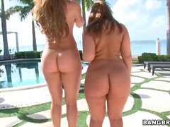 Monique Fuentes and Lexi Lockhart - Ass Parade