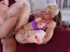 Sarah Vandella Fucked at Gym