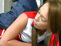 De playgirl bows sobre para drilling vigas doggystyle