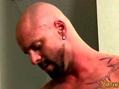 Muscle twinks analsex med cumshot