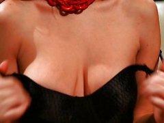 Sabrina Maree striptease, solo...