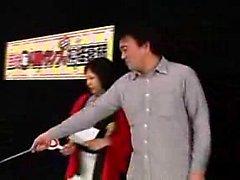 Duas meninas japonesas marcantes agradar um pólo duro com a sua