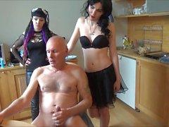 Ulf Larsen fazer xixi, piscar, wanking & comer esperma